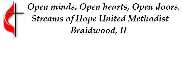 Stream of Hope UMC Braidwood, IL