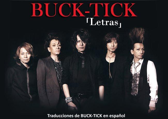 BUCK TICK LETRAS