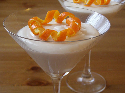 Vegan White Chocolate Grand Marnier Mousse