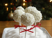 Snowball Cake Pops