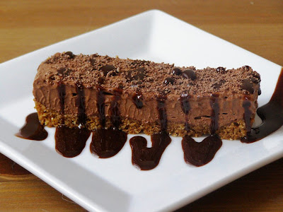 chocolate frangelico mousse tart