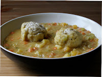Newfoundland Pea Soup with Doughboys