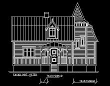 Fasaden från framsidan