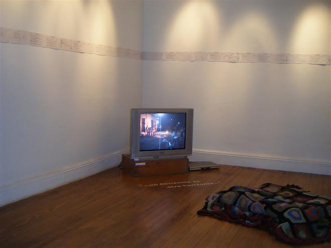 relatos + visuales + registros en Isidoro espacio de arte 05/04/09