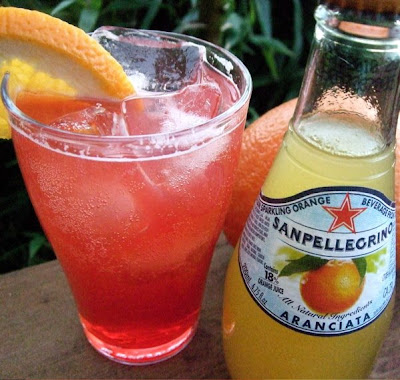 EAT.DRINK.THINK.: Campari Aranciata Cocktail: keeping it simple!