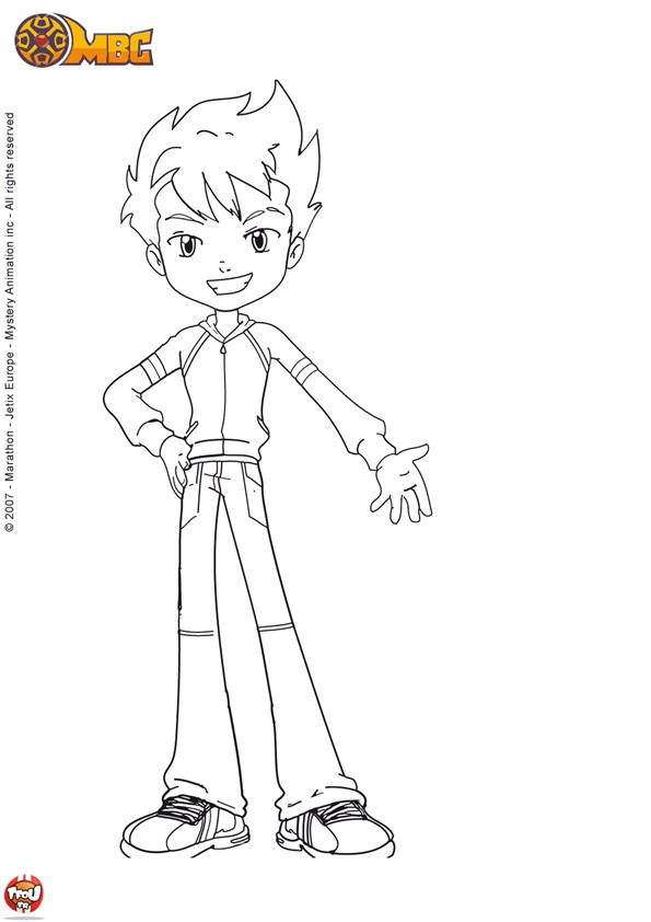 Free coloring pages of monster buster - Coloriage monster buster club ...