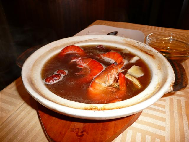 how to cook drunken prawn soup