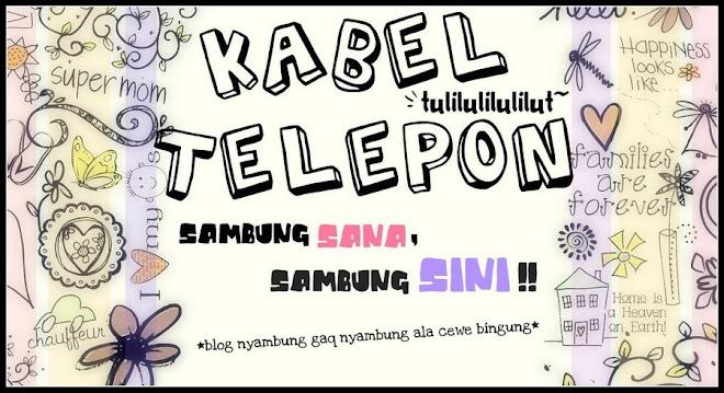 kabel telepon