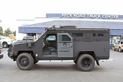 Armored SWAT Vehicle