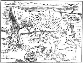 RK Laxman cartoon