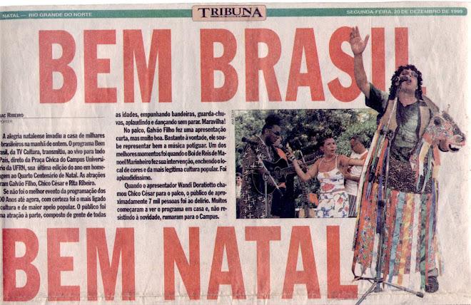 PROGRAMA BEM-BRASIL DA TV CULTURA (2000)