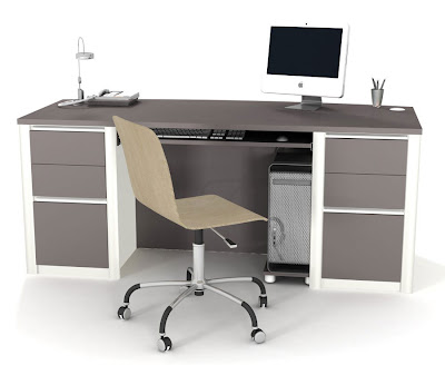 Simple home office computer desks best quality home and interior design - Quality home office furniture ...