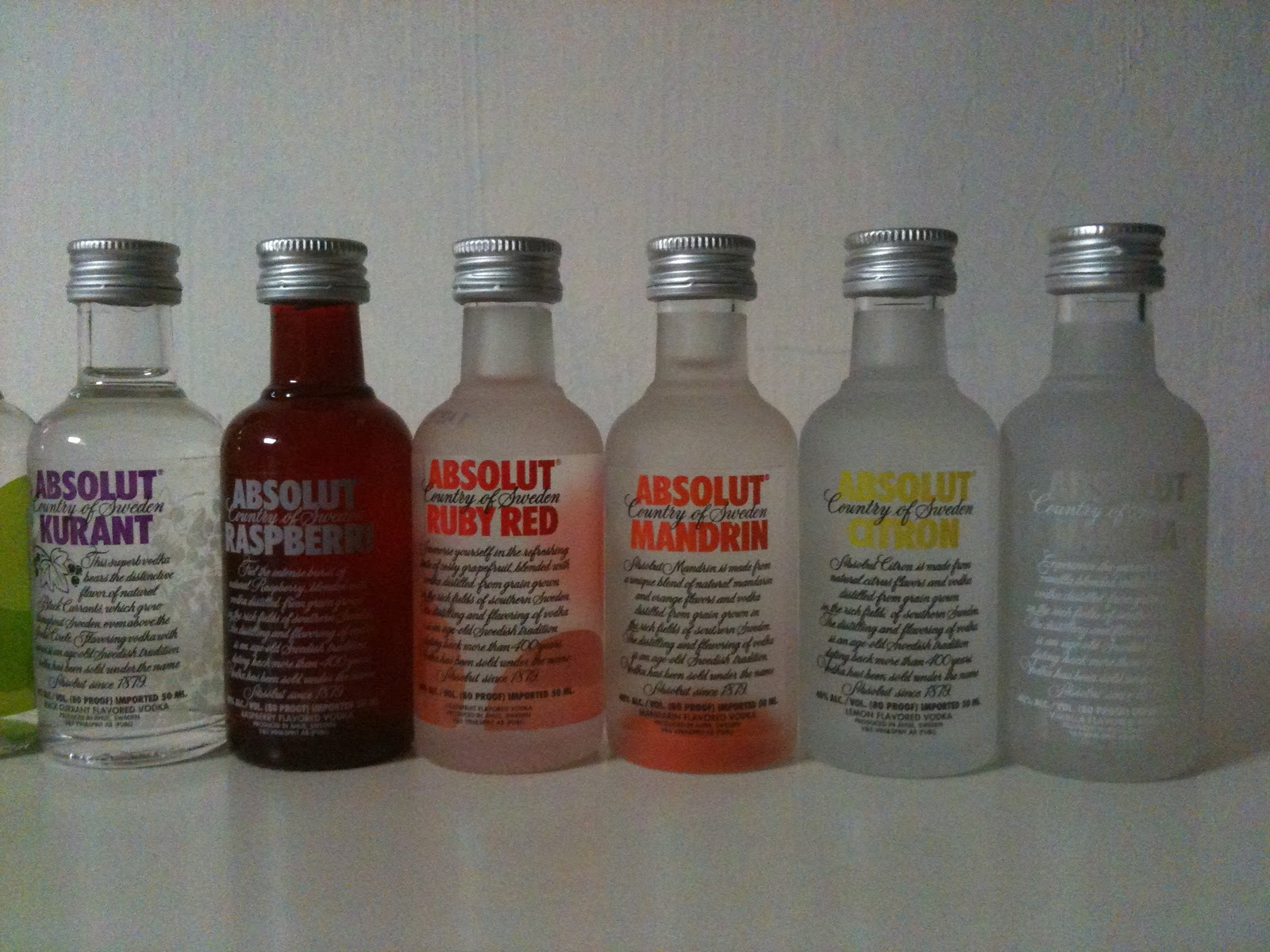 Absolut Vodka 50ml Miniature