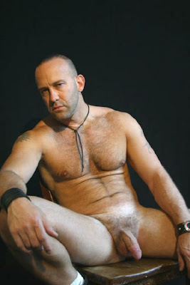 Handsome older men naked