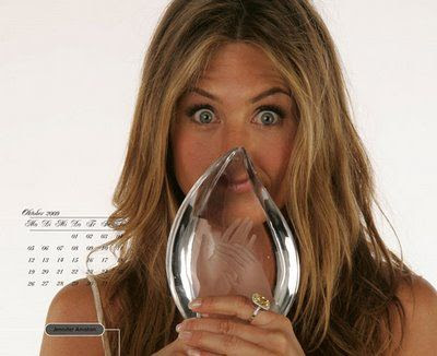 jennifer aniston 2009 calendar