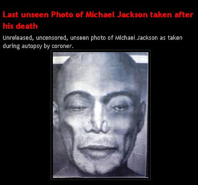 Celebrity Autopsy Pictures on Last Unseen Photo Of Michael Jackson After His Death   Funky Downtown
