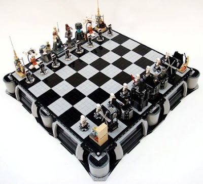 "The ""A New Hope Lego Chess set"" features the characters of Star Wars;"