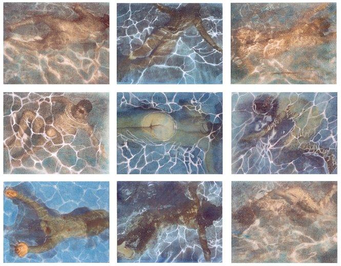 Nadando con David Hockney