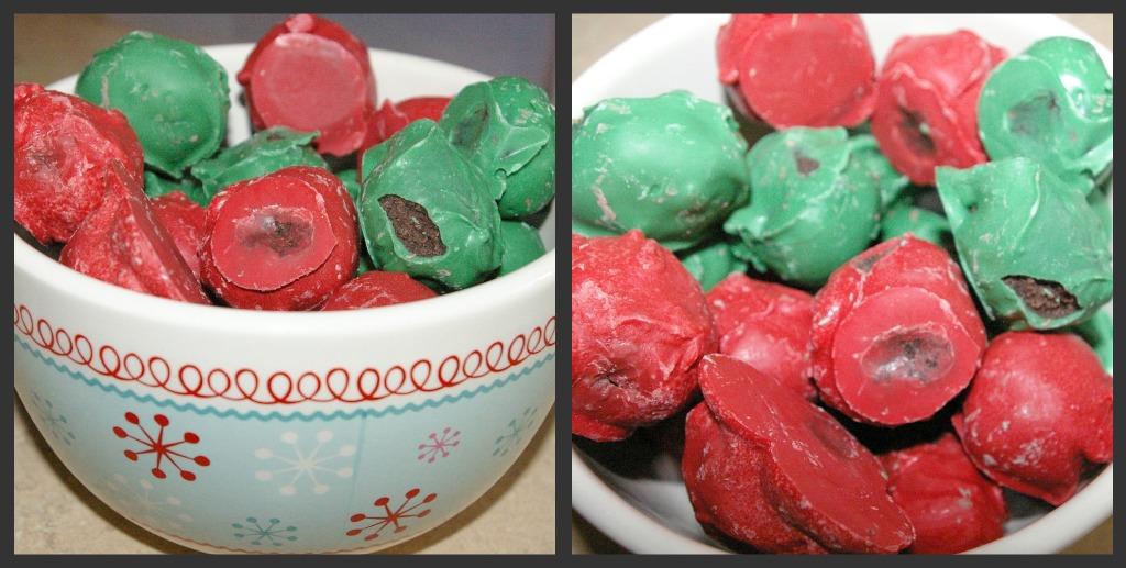 Idaho Mom: Peppermint Cake Balls