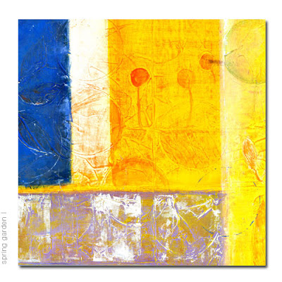 reproduction abstract acrylic painting on canvas, giclee print