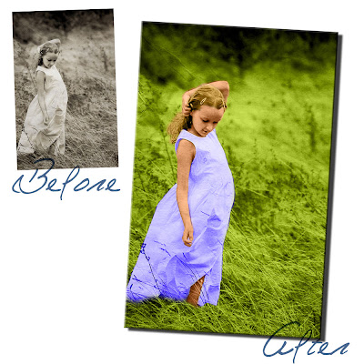 Make Black and White Photo into Full Color