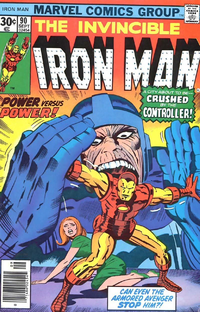 KIRBY DYNAMICS Kirby 1970s Iron Man Covers