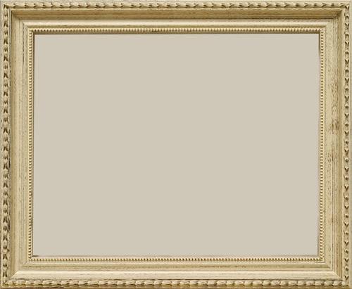 Cuadros Domingo: Marco 24x30 clásico blanco decape