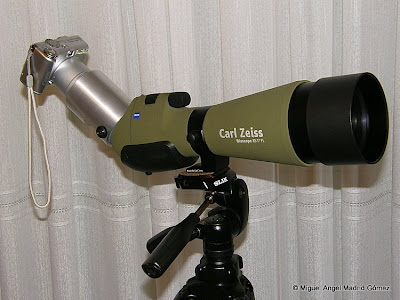 Equipo de Digiscoping
