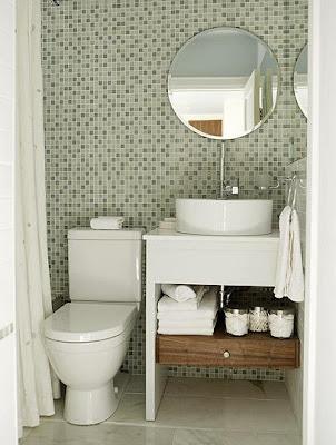 Mais solu es para banheiros pequenos cores da casa for 4x4 bathroom ideas