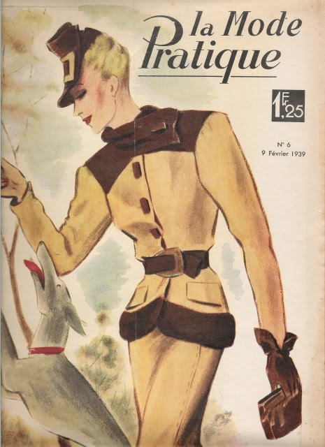 Le ceramiche di marta collezionismo una vecchia rivista for Rivista francese di campagna