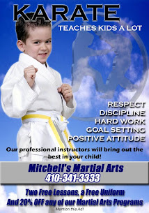 Mitchell's Martial Arts 410-341-3333