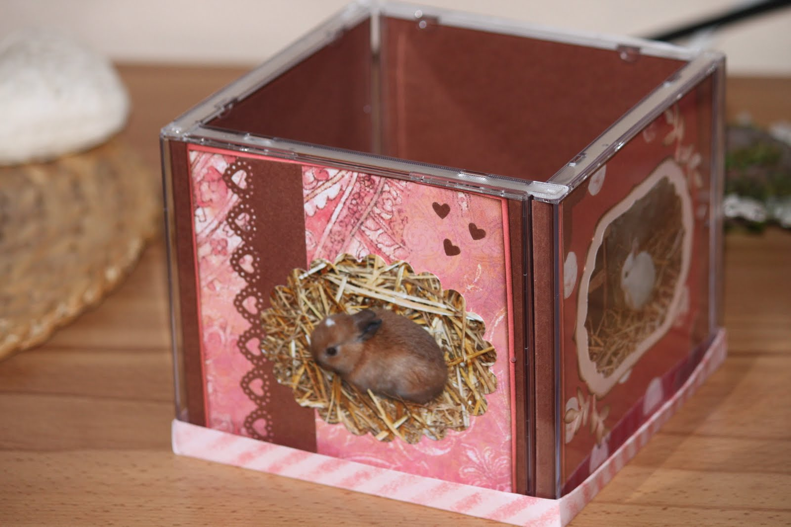 mimis bastelseite foto w rfel aus cd h llen. Black Bedroom Furniture Sets. Home Design Ideas