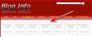 banner blog info
