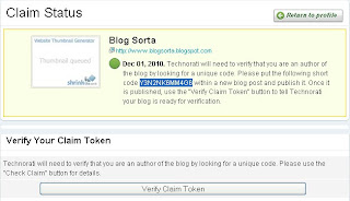 verify claim token