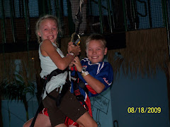 Swinging together at Jungle Quest