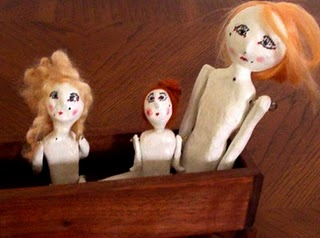 Three Bare Dollies