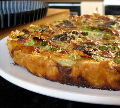 asparagus buttermilk tart