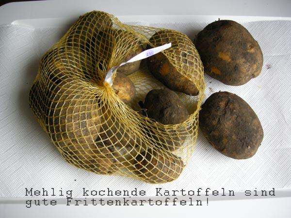 Mehlig kochende Kartoffeln