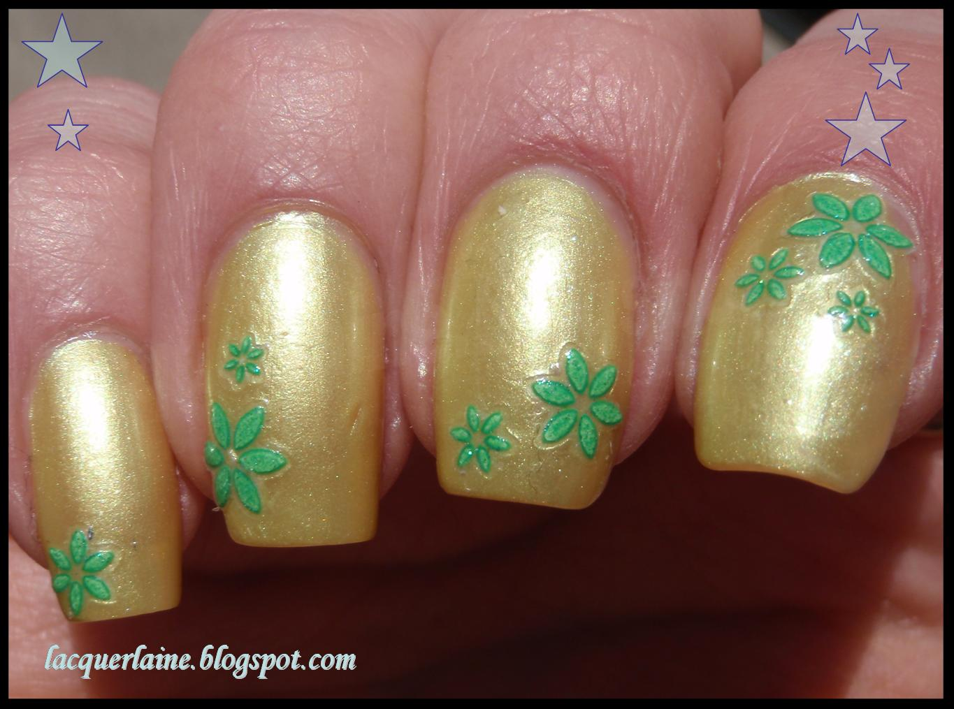 Lacquer Laine: Nailene Bedazzle Nail Decals