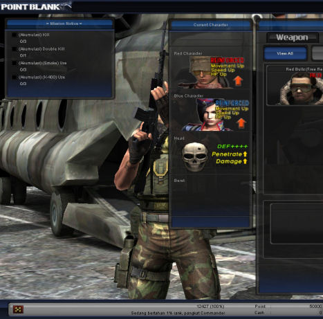 Cheat Point Blank PB 26112010 Cash Terbaru 26 November 2010