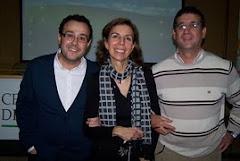 Jesús Carlos y Andrés con Juana María Hernandez