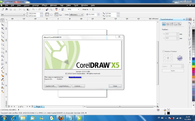 Corel DRAW Graphics Suite X5 Español