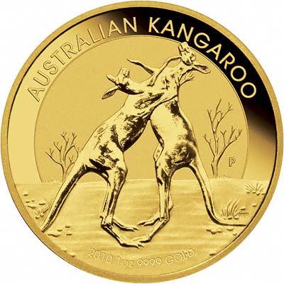 2010 Golden Coin Australian Kangaroo