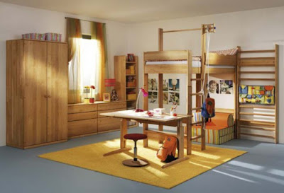 Kids Room Furniture Ideas on Decorating Ideas Kids Rooms Furniture Set 587x401 Jpg