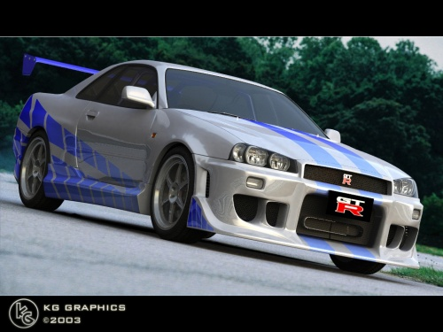 nissan skyline r34 fast and furious 4. Nissan Skyline R34 Gtr