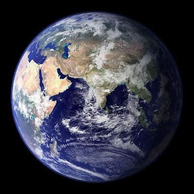 Foto Satelital Del Planeta Tierra
