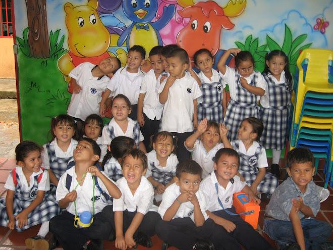 Niños de preescolar de la escuela Las Brisas
