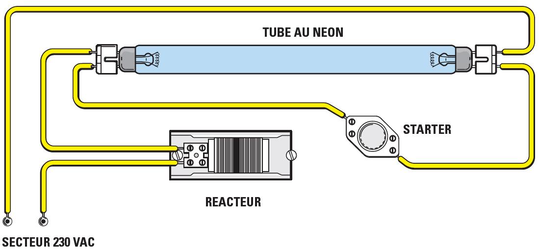 Schema Collegamento Neon In Serie : Un variateur pour tubes au néon schema electronique net
