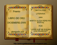 "PREMIO ""LIBRO DE ORO"" MES DE DICIEMBRE - 2009 - 01/01/2010"
