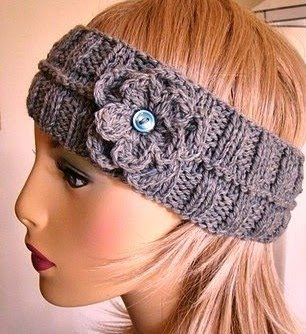 Knitted Head Wrap Pattern Free : CALORIMETRY HEADBAND CROCHET PATTERN FREE CROCHET PATTERNS
